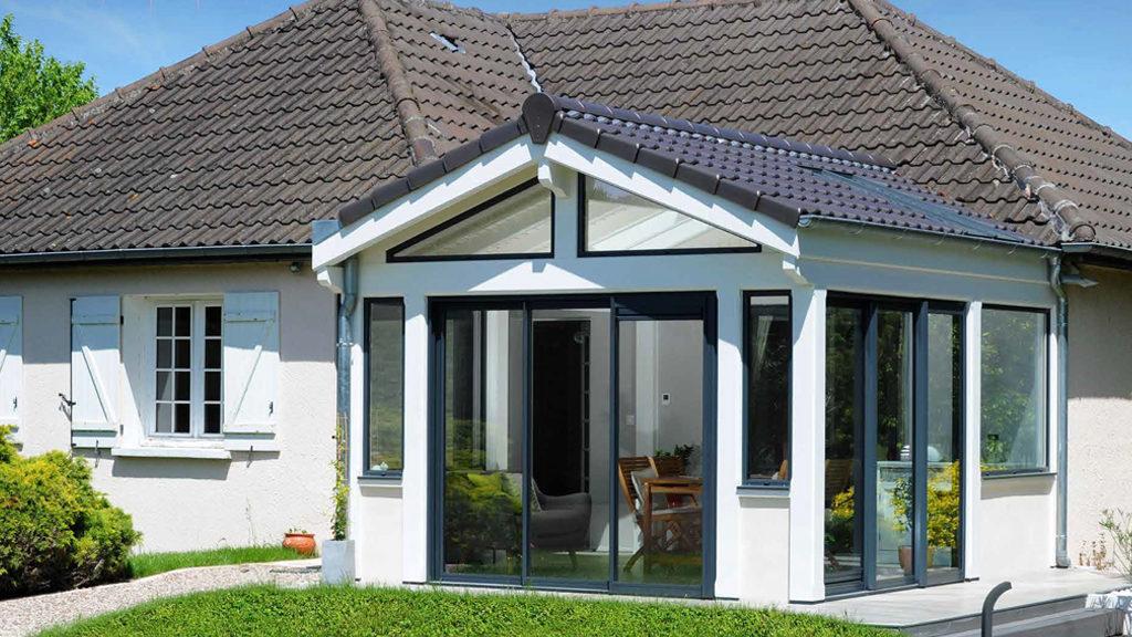 vie et veranda film produit aluminium bois